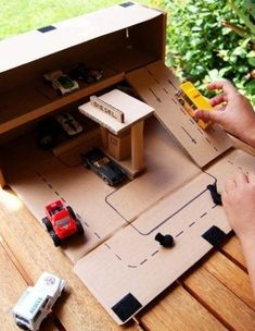 Cool stuff to make from cardboard for the kids.