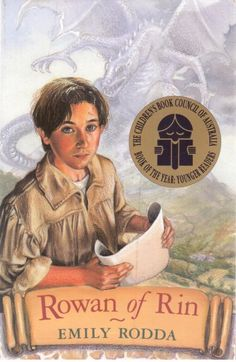 This is still by far the best cover the novel ever had.l Pity they tried to be trendy! Rowan of Rin by Emily Rodda - Paperback - S/Hand