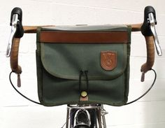 The Velo ORANGE Blog: Mounting a Handlebar Bag, in Pictures