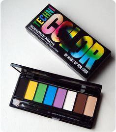 MUFE - Technicolor palette