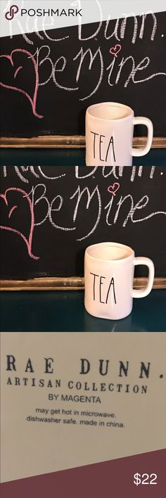 Rae Dunn Tea Mug New Rae Dunn by Magenta Mug. Tea No chips. Perfect gift. Hard to find. Rae Dunn Other