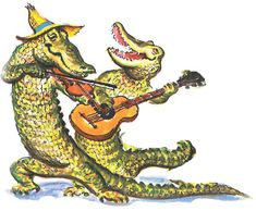 With the growing popularity of the History Channel's show Swamp People , a Cajun alligator themed party is sure to be a hit with your g. Louisiana Art, Louisiana Homes, New Orleans Louisiana, Louisiana Creole, Mardi Gras Outlet, Cajun French, New Orleans Art, Vintage Florida, Halloween