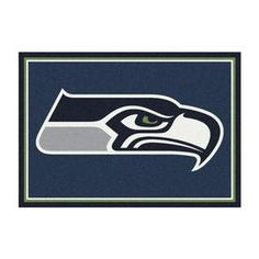 Imperial International Seattle Seahawks 4 x 6 team color Indoor Sports Area Rug