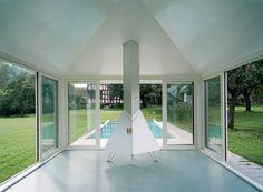 Badehaus mit Swimmingpool / Buol & Zünd / 2001 / Kesswil, Switzerland