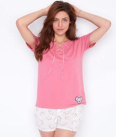 FANFAN TOP UNI - ETAM Boutique Lingerie, Fashion Sketchbook, Pjs, Tunic Tops, How To Wear, Women, Babydoll Sheep, Swimsuit, Womens Fashion