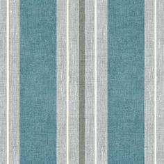 Vintage Stripe Blue Fabric