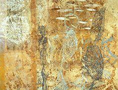 Eva Isaksen - Works on Canvas - Frida's Garden