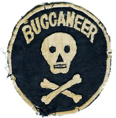 buccaneer patch vintage