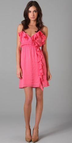 Milly Stephanie Ruffle Dress