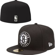 New Era Brooklyn Nets 59FIFTY Fitted Hat - NBAStore.com Nba Store 9761a8040