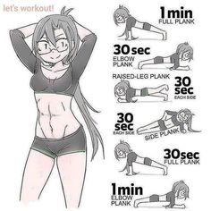Flat stomach workout: Planks a re one of the best exercises to tighten the stomach and strengthen the core. Abs workout at home. Planks workout routine to get abs at home. Learn to get a flat and toned abs at home with this. Workout For Flat Stomach, Belly Fat Workout, Flat Tummy, Stomach Workouts, Plank Workout, Workout Abs, Waist Workout, Street Workout, Workout Motivation