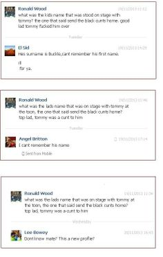 A few months ago, #EDL were denying this: http://www.youtube.com/watch?v=AolV-_dQH30 ever happened... However...