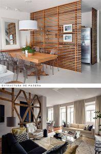 Si no te gustan las casas diáfanas te contamos cómo puedes dividir el espacio con estanterías, biombos...