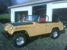 Jeepster Commando - still a project, but it does run and drive! Enjoy Car, Jeepster Commando, Off Road Camper, Jeep Jeep, Jeep Stuff, Jeep Life, Hot Cars, Buick, Vintage Cars