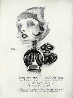 A beautiful perfume ad 1927