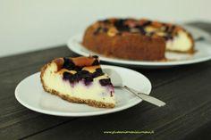 Gluteenitonta leivontaa: Mustikka-valkosuklaajuustokakku