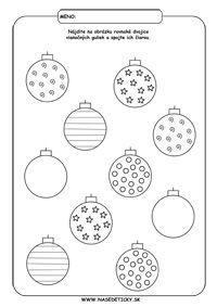 Image result for vánoční pracovní listy Christmas Crafts, Xmas, Toddler Activities, Fused Glass, Bookmarks, Pattern, How To Make, Noel, Kindergarten