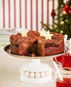 Suklaa-rommirusinakakku | K-ruoka #joulu