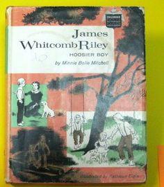 James Whitcomb Riley : Hoosier Boy (Childhood of Famous Americans): Minnie Belle Mitchell, Kathleen Elgin: Amazon.com: Books