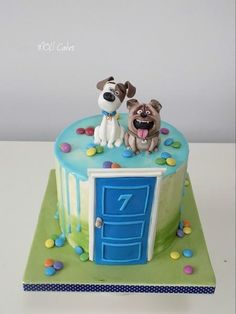 Secret life of pets by MOLI Cakes