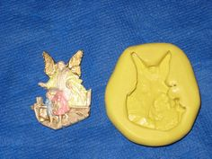 Guardian Angel Push Mold Resin Clay Candy Food Safe Silicone #281 Scrapbooking by LobsterTailMolds on Etsy