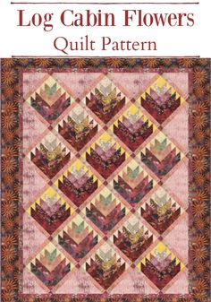 This is a great quilt pattern for batiks!  #quilts #pattern #quilting #batiks #affiliate