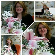 Sevilmek ve çiçekler