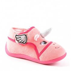 fb442e18a0ed8 Chaussons enfant rose. CHAUSSONS fille LICORNE ROSE. CHAUSSEXPO · CHAUSSURES  ...