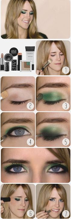 Emerald Smokey Eye Plus WIN the makeup from Sephora used to create this look! All Things Beauty, Beauty Make Up, Diy Beauty, Beauty Hacks, Beauty Tips, Pretty Makeup, Love Makeup, Makeup Tips, Makeup Looks