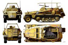 Sd.kfz. 250/3 'Greif' Rommel Command Vehicle