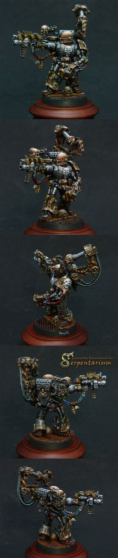 Iron Warriors Warsmith (warpsmith)