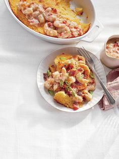Craving a little down-home comfort? These quick and easy recipes deliver authentic Southern flavor with super short prep time. Ham And Noodle Casserole, Grits Casserole, Casserole Recipes, Squash Casserole, Brunch Recipes, Seafood Recipes, Breakfast Recipes, Cooking Recipes, Thai Recipes