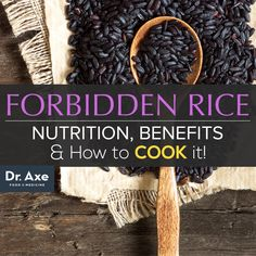 Despite being less popular than brown rice or wild rice, black rice, known as forbidden rice, is an ancient grain that has even more impressive health benefits than most other closely related rice varieties. Not only is it the type of rice that is riches Black Rice Health Benefits, Black Rice Nutrition, Rice Nutrition Facts, Cooking Black Rice, Olives, Healthy Life, Healthy Eating, Healthy Food, Clean Eating