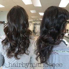 Color refresh with Redken color, haircut, blowout & style  #redken #styleyourstory #cilantrohairspa #behindthechair #modernsalon #shadeseq #1000orbust #brunette #brownhair