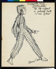 Bonnie Cashin designs for polluted earth 1966