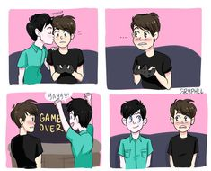Only because I ship it. Otherwise I hate these kind of comics. And I like the art style.