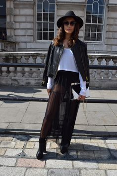 SS15 London Fashion Week Street Style from Mint Velvet