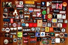 Image result for punk rock stickers