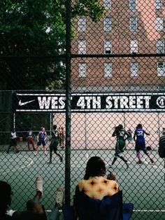 West 4th Street Courts  | Photo by brandi | VSCO Grid