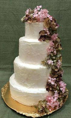 tarta buttercream paleteada cascada hortensia preservada Cupcakes, Desserts, Food, Fondant Cakes, Lolly Cake, Candy Stations, Weddings, Tailgate Desserts, Cupcake Cakes