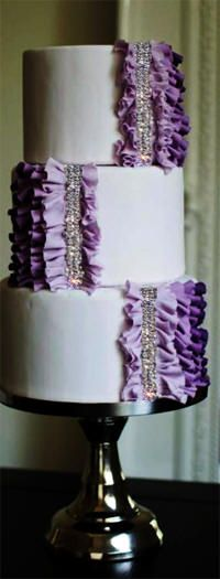 25 Foot Wedding Cakes | separately cake stage cake brooches and cake topper sold separately