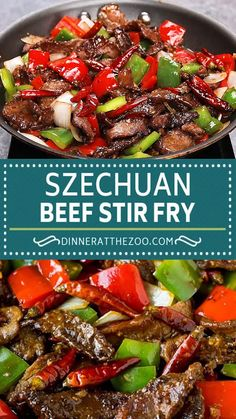Homemade Chinese Food, Easy Chinese Recipes, Easy Healthy Recipes, Asian Recipes, Mexican Food Recipes, Vegetarian Recipes, Cooking Recipes, Beef Stir Fry Sauce, Teriyaki Beef Stir Fry