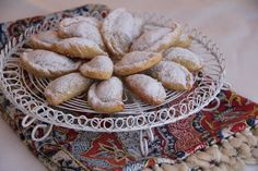 Persian Walnut and Almond Crescents