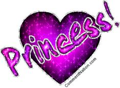 Princess Pink And Purple Glitter Heart Image: Graphic Comment Meme or GIF Purple Love, All Things Purple, Shades Of Purple, Romantic Good Morning Messages, Romantic Love Quotes, Love You Images, Heart Images, Glitter Hearts, Purple Glitter