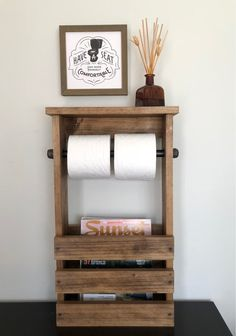 Bathroom Set Shelf with Pipe Towel Bar And Toilet Paper and Magazine Holder, Rustic Bathroom Storage, Industrial Modern Bathroom Decor Store Free Standing Toilet Paper Holder, Rustic Toilet Paper Holders, Bathroom Toilet Paper Holders, Toilet Paper Storage, Toilet Paper Holder For Rv, Toilet Paper Stand, Rustic Bathroom Shelves, Modern Bathroom Decor, Industrial Bathroom