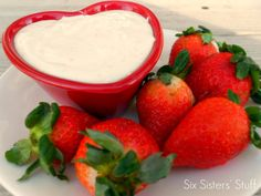 Orange Creamsicle Fruit Dip Recipe--bridesmaid's luncheon?
