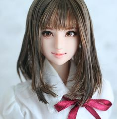 "★ and Rey ★ 1/6 custom doll head ""Manami"""