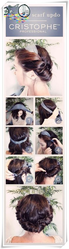 Five minutes hair styling for busy mornings <333