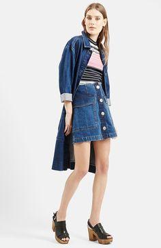 NAS: Belted denim jacket