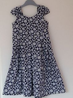 Little girls dress, for my youngest daughter who does not like pink. :)